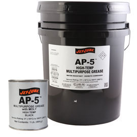 Jet Lube AP-5 High Temp Multipurpose Black Grease