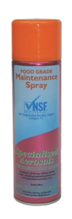 Food Grade Maintenance Spray