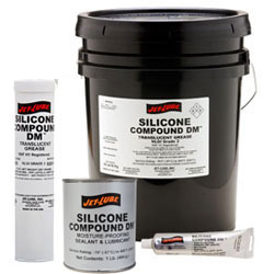 Jet Lube Silicone Compound DM Moisture Proofing Sealant & Lubricant