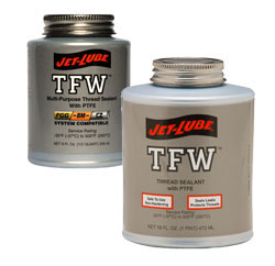 Jet Lube TFW Multi-Purpose Thread Sealant with PTFE